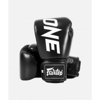 Перчатки FAIRTEX BGV One Chempionship Gloves. Цвет чёрный.