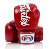 BGV19 DELUXE TIGHT-FIT GLOVES. Универсальные перчатки для Бокса. Цвет Красный