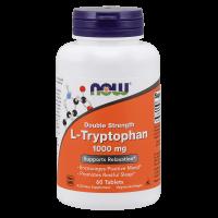 Now Foods L-Tryptophan 1000 мг 60 таблеток