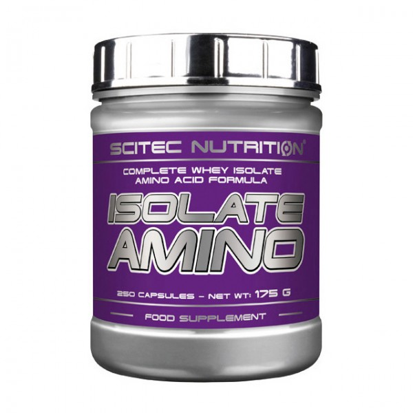 Scitec Nutrition Isolate Amino 250 капсул