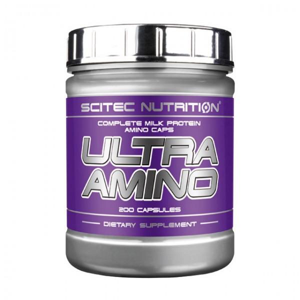 Scitec Nutrition Ultra Amino 200 капсул