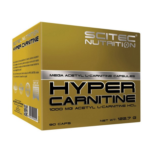 Scitec Nutrition Hyper Carnitine 90 капсул