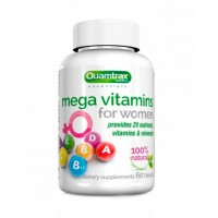 Quamtrax Nutrition Mega Vitamins for Women 60 таблеток