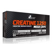 Olimp Creatine Mega Caps 1250 (120 капсул)