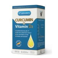VpLab Curcumin & Vitamine D3 (60 капсул)