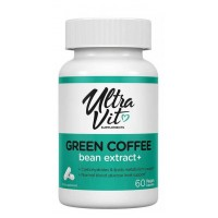 UltraVit Green Coffee Bean Extract 60 капсул