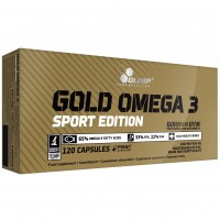 Olimp Gold Omega 3 Sport Edition (120 капсул)