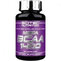 Scitec Nutrition MEGA BCAA 1400 90 капсул