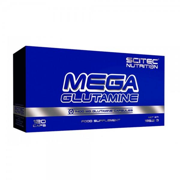 Scitec Nutrition Mega Glutamine 120 капсул