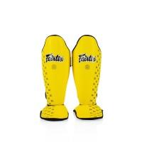 SP5 Тренировочная защита на ноги Fairtex. Цвет Жёлтый.